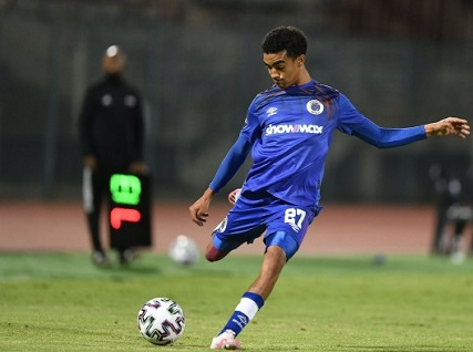 SuperSport United defender, Keenan Phillips