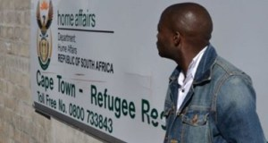 Refugee reception centre in Cape Town, South Africa