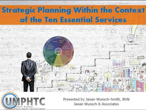 Strategic Planning Within the Context of the Ten Essential Services Image