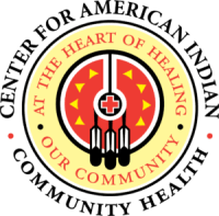 Logo for the Center for American Indian Communicaty Health