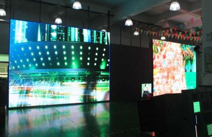 LED TV display