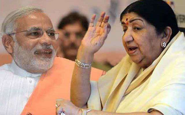 lata-mangeshkar-told-narendra-modi-that-image-of-the-country-has-changed-since-you-became-prime-minister-mplive