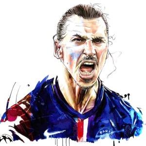 Zlatan Ibrahimovic Amazing Art
