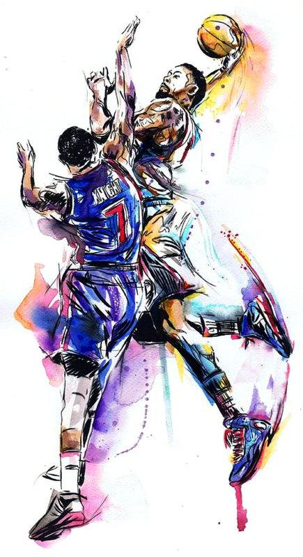 Basketball Amazing Dank Art