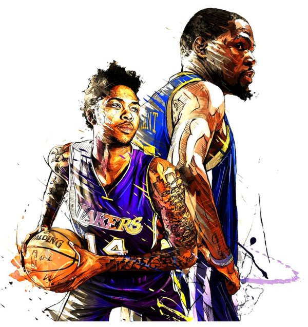 Brandon Ingram Basketball Art