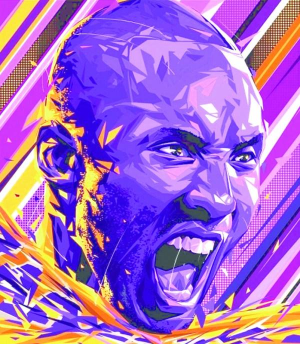 Kobe Bryant Art Print