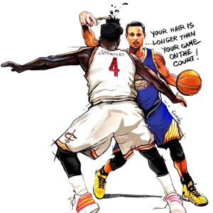 Iman Shumpert VS Stephen Curry