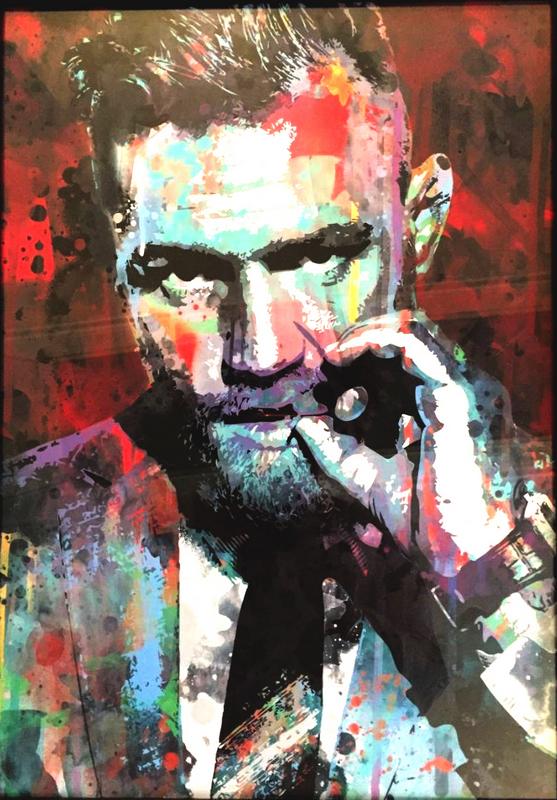 Conor McGregor Cool Art