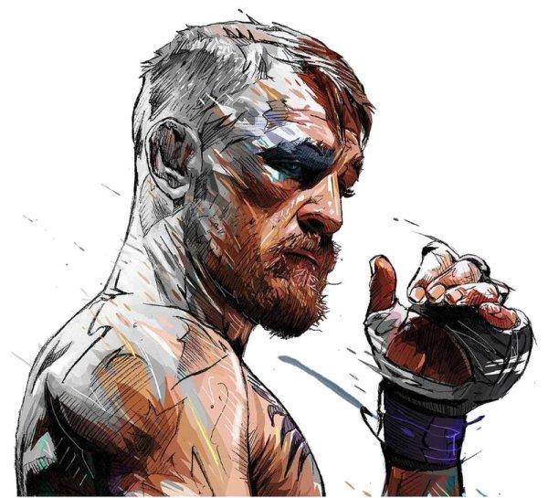 MMA Conor McGregor Art