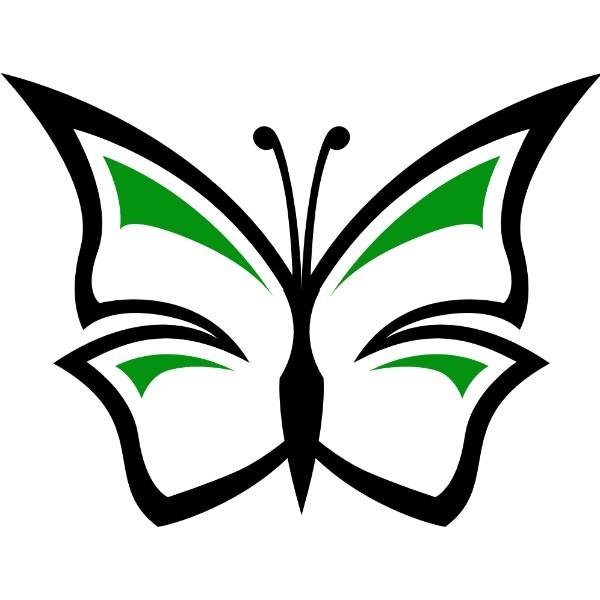 Πεταλούδα Εκτύπωση Στάμπα Μπλουζάκι