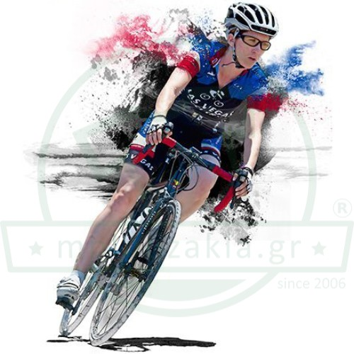 Ποδηλάτισσα Εκτύπωση Ζωγραφιά Art