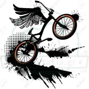 BMX Bike Ποδήλατο Φτερά