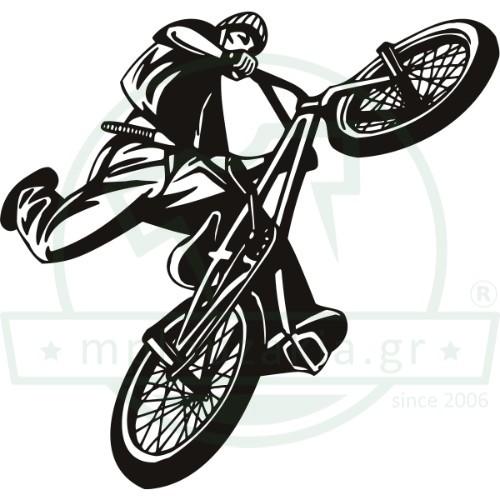 Bike Air Trick Print