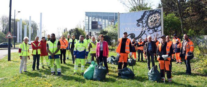 Grand nettoyage de printemps à Mulhouse