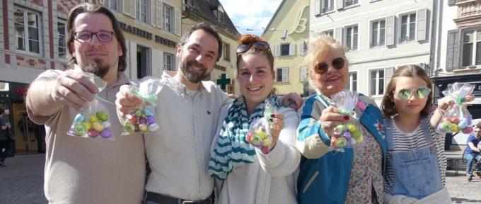 Les commerçants mulhousiens mobilisés pour fêter Pâques