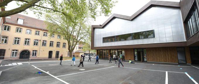 L'école Cour de Lorraine rénovée du sol au plafond