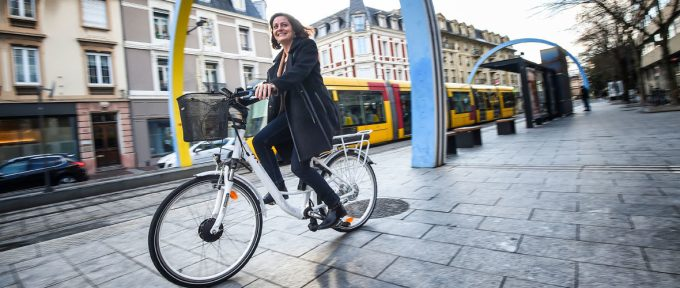 Le vélo à assistance électrique arrive à Mulhouse