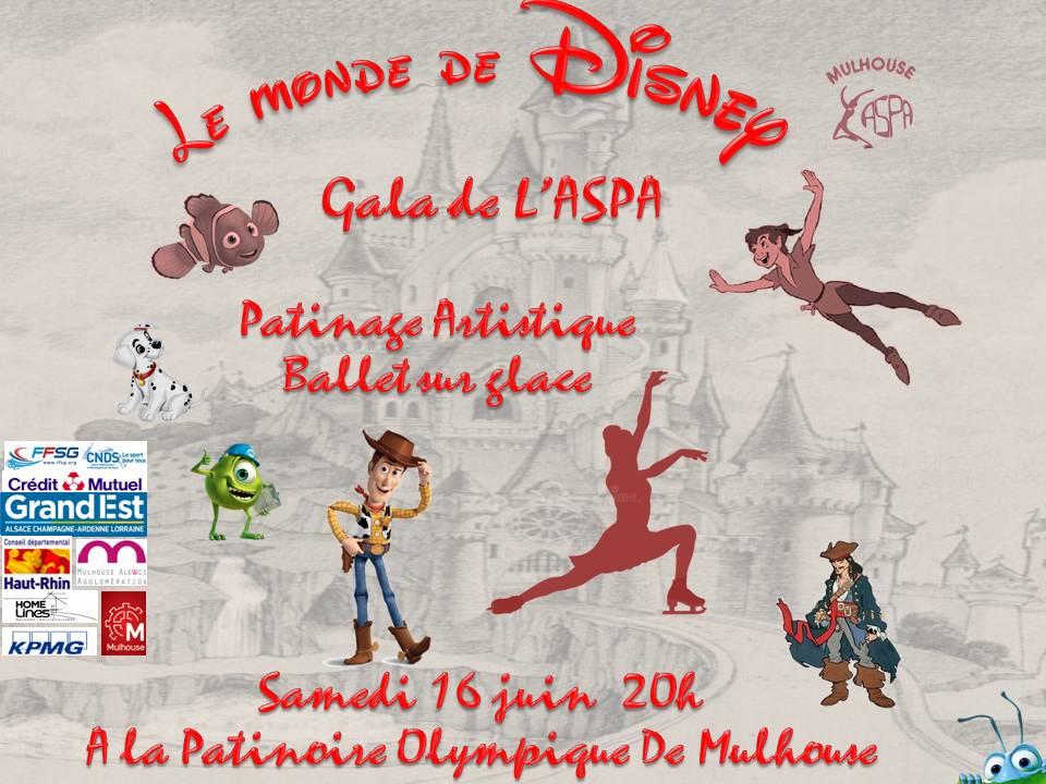Le monde de Disney sur glace
