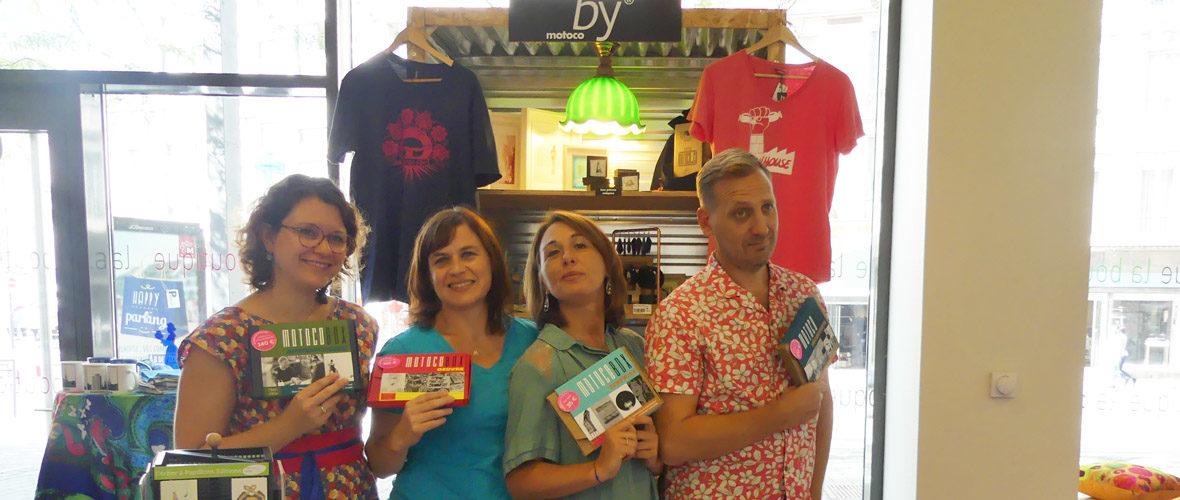 Les créations « ByMotoco » investissent la boutique de l'Office de tourisme | M+ Mulhouse