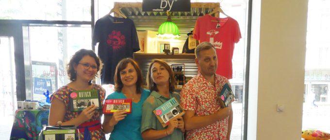 Les créations « ByMotoco » investissent la boutique de l'Office de tourisme