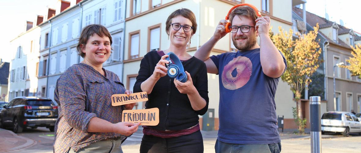Franklin-Fridolin : un audioguide avec Les Voix d'ici | M+ Mulhouse