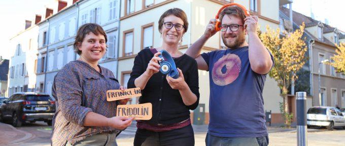 Franklin-Fridolin : un audioguide avec Les Voix d'ici