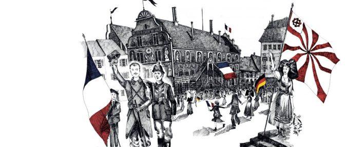 Les commémorations du centenaire de la fin de la Grande Guerre à Mulhouse