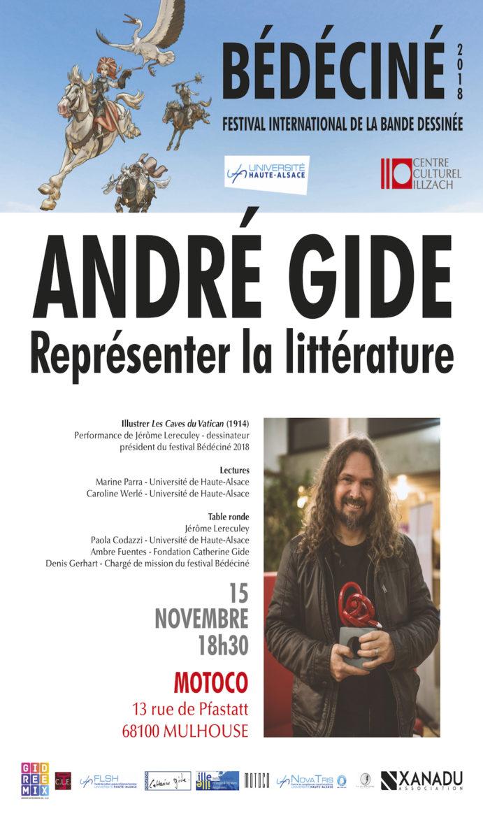 André Gide et la bande dessinée.