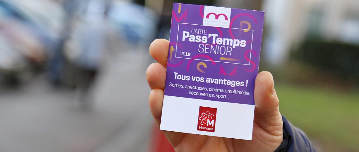 Carte Pass'temps senior: leplein d'avantages pour les 65 ans et plus | M+ Mulhouse