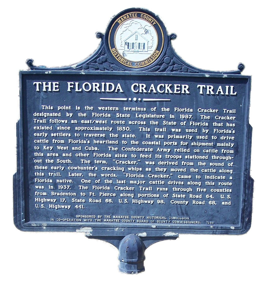 FLorida Cracker Trail Marker