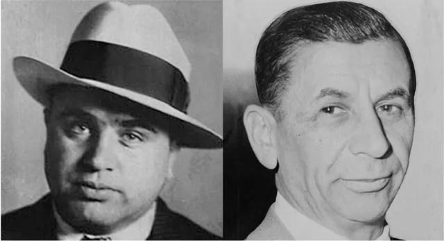 Al CApone and Meyer Lansky