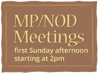 Meeting on First Sunday at 2pm