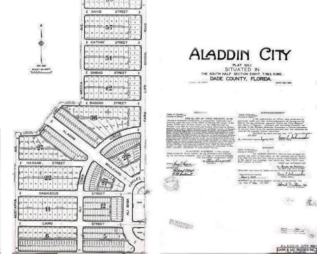 Aladdin City Plat