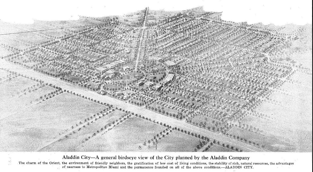 Aladdin City Plan illustration
