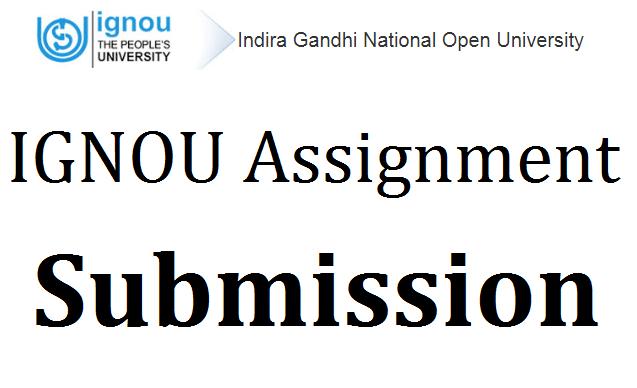 IGNOU Assignment Submission