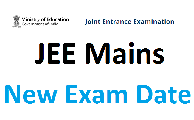 JEE Main new exam date