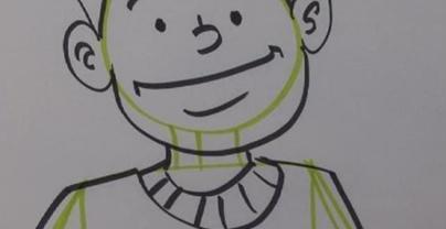 Jak narysować kreskówkowego mężczyznę