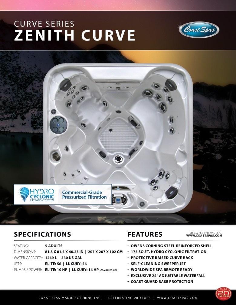 Zenith Curve Spas