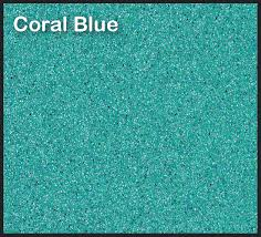 Coral Blue Fiberglass Finish