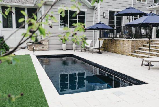 The Vision Fiberglass Pool