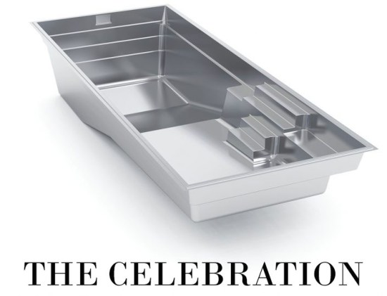 The Celebration Fiberglass Pool