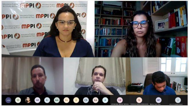WhatsApp Image 2021 01 29 at 21.51.32 MPPI e Instituto de Criminalística realizam reunião para aprimorar diálogo em favor da celeridade na persecussão criminal