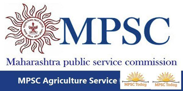 MPSC Agriculture Services