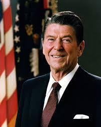 रोनाल्ड रेगन, अमेरिकन राष्ट्राध्यक्ष