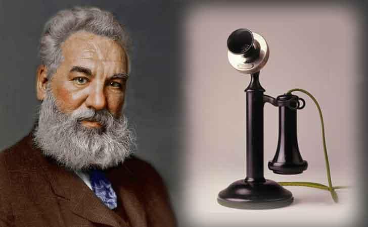 अलेक्झांडर ग्राहम बेल यांनी टेलीफ़ोनचा शोध लावला.