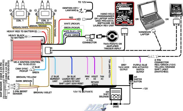 duraspark ii wiring question ford muscle forums ford muscle Msd Shift Light Wiring Diagram msd ignition wiring diagram ford wiring diagram, wiring diagram MSD 6A Wiring-Diagram