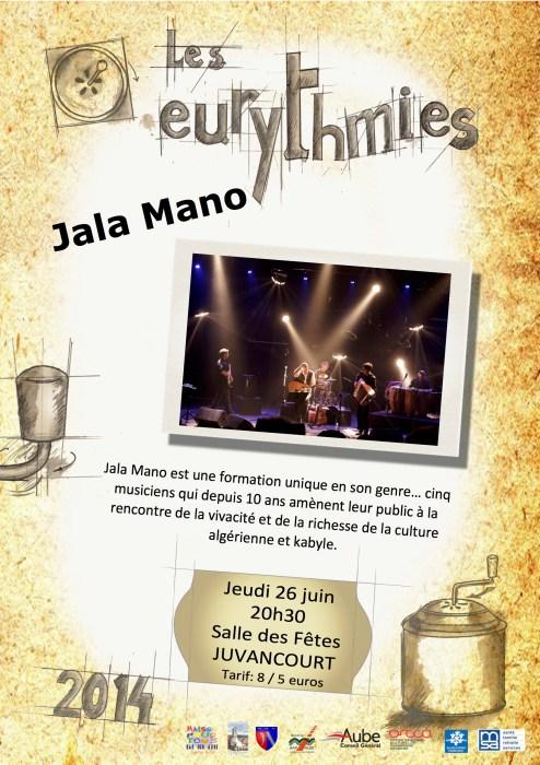 Affiche Jala Mano
