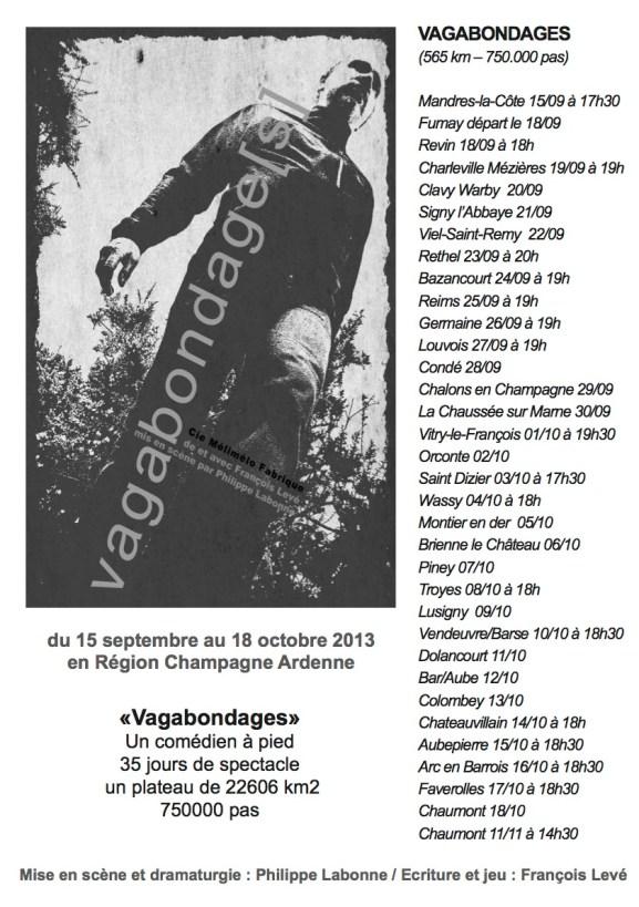 affiche vagabondages