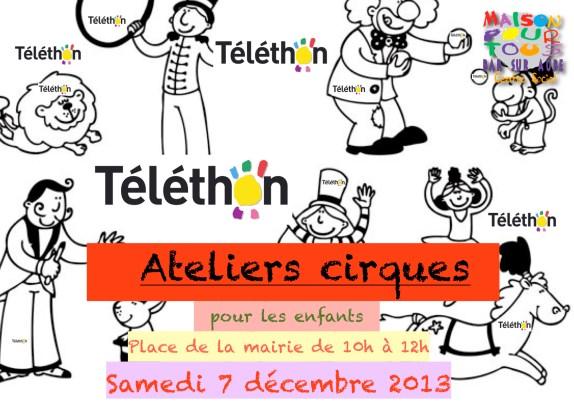 cirque téléthon 2013