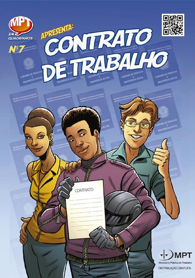 MPT em Quadrinhos - Contrato de Trabalho - Edição 7
